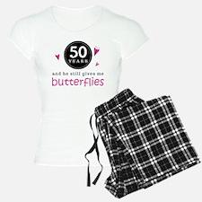 50th Anniversary Butterflies Pajamas