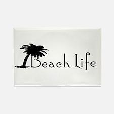 Beach Life Rectangle Magnet