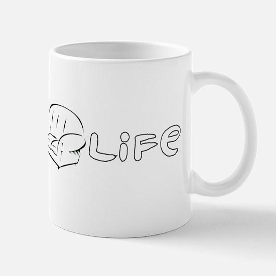 Couch Life (Black) Mug