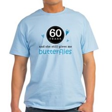 60 Year Anniversary Butterfly T-Shirt