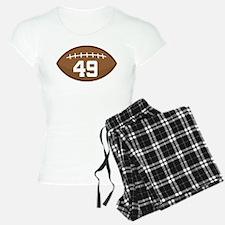 Football Player Number 49 Pajamas