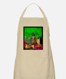 BBQ Apron, Spirit of the Koa Warrior