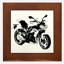 naked upright Framed Tile