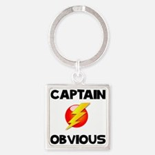 Captain Obvious Keychains