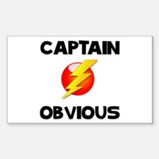 Captain Obvious Decal