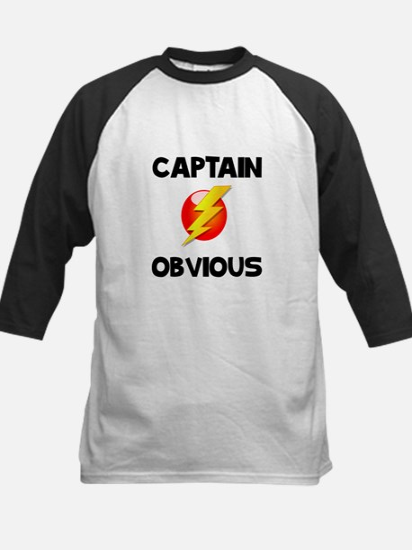 Captain Obvious Baseball Jersey