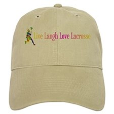 Live Laugh Love Lacrosse Baseball Baseball Cap