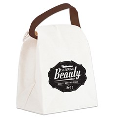 Sleeping Beauty Since 1697 Canvas Lunch Bag