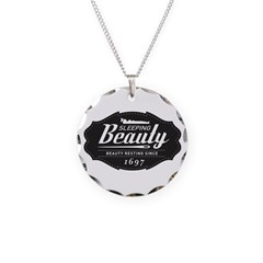 Sleeping Beauty Since 1697 Necklace