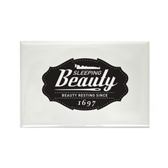 Sleeping Beauty Since 1697 Rectangle Magnet