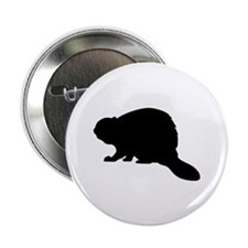 "Beaver 2.25"" Button (10 pack)"