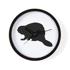 Beaver Wall Clock
