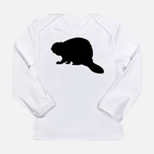 Beaver Long Sleeve Infant T-Shirt