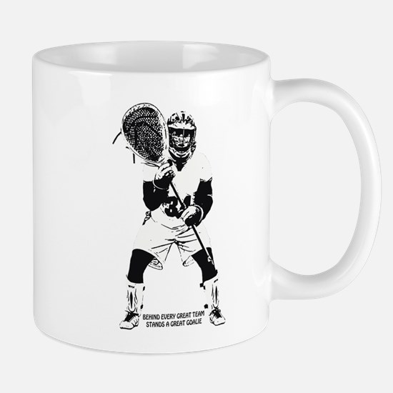 Lacrosse Behind Every Great Team Mug