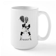 Lacrosse Goalie Behind Every Great Team Mug