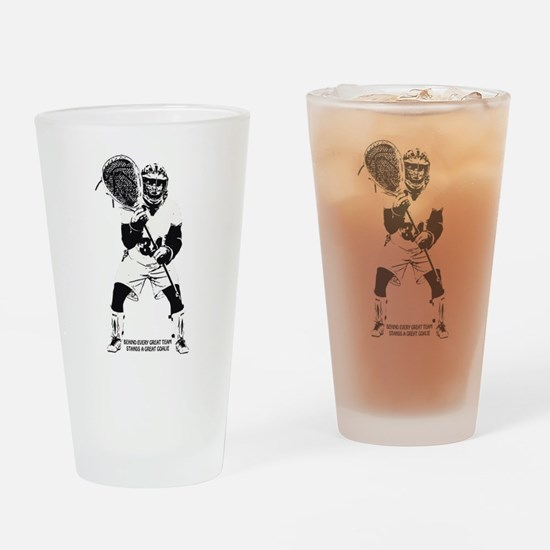 Behind Every Great Team Drinking Glass