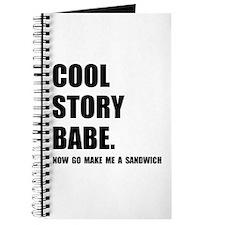Cool Story Sandwich Journal