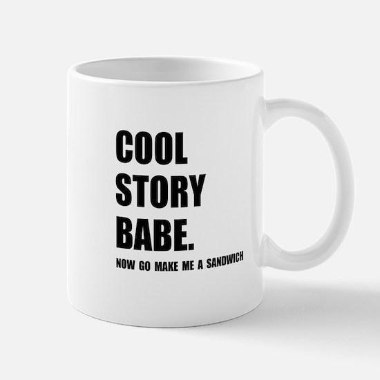 Cool Story Sandwich Mug