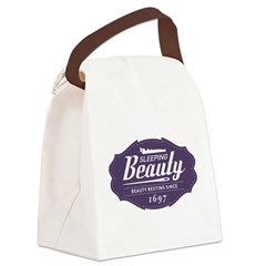 Sleeping Beauty Since 1697 Canvas Lunch Bag