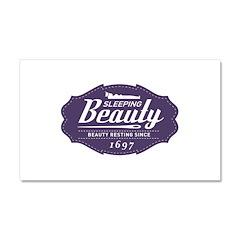 Sleeping Beauty Since 1697 Car Magnet 20 x 12