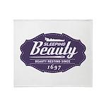 Sleeping Beauty Since 1697 Throw Blanket