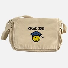 GRAD 2013 WITH SMILEY FACE Messenger Bag