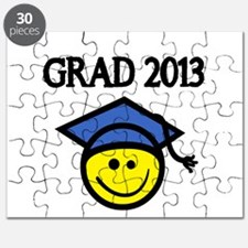 GRAD 2013 WITH SMILEY FACE Puzzle