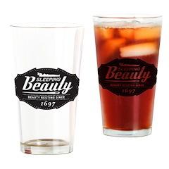 Sleeping Beauty Since 1697 Drinking Glass