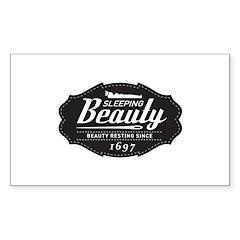 Sleeping Beauty Since 1697 Decal