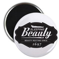 "Sleeping Beauty Since 1697 2.25"" Magnet (100 pack)"