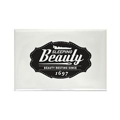 Sleeping Beauty Since 1697 Rectangle Magnet (100 p