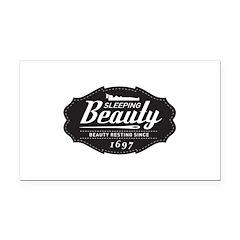 Sleeping Beauty Since 1697 Rectangle Car Magnet