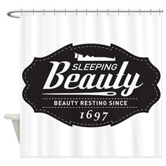 Sleeping Beauty Since 1697 Shower Curtain