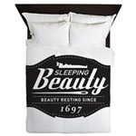 Sleeping Beauty Since 1697 Queen Duvet