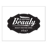 Sleeping Beauty Since 1697 Small Poster