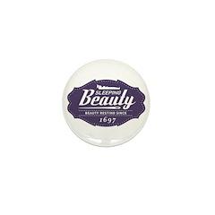 Sleeping Beauty Since 1697 Mini Button (100 pack)