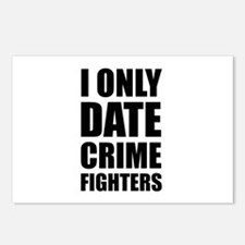 Date Crime Fighters Postcards (Package of 8)