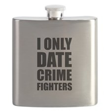 Date Crime Fighters Flask