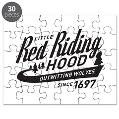 Little Red Riding Hood Since 1697 Puzzle