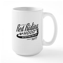 Little Red Riding Hood Since 1697 Large Mug