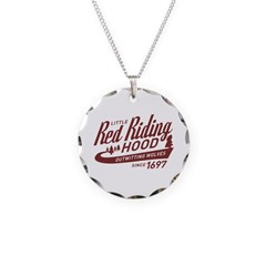Little Red Riding Hood Since 1697 Necklace