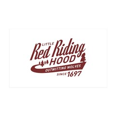 Little Red Riding Hood Since 1697 Wall Decal