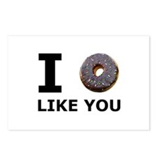 Donut Like You Postcards (Package of 8)