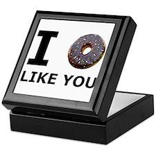 Donut Like You Keepsake Box