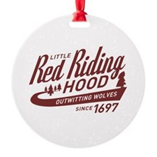 Little Red Riding Hood Since 1697 Ornament