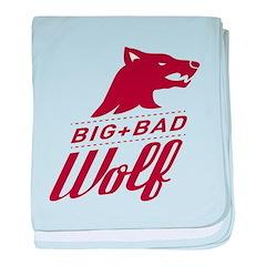 Big Bad Wolf baby blanket