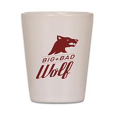 Big Bad Wolf Shot Glass
