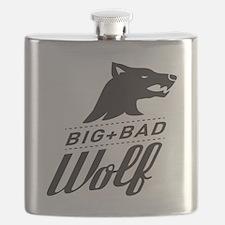 B&W Big Bad Wolf Flask