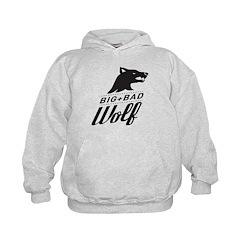 B&W Big Bad Wolf Hoodie