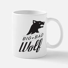 B&W Big Bad Wolf Mug